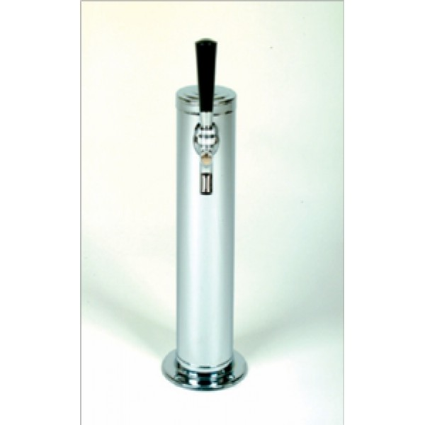 """Tower - Cylindrical Wine 15"""" - Single Faucet"""