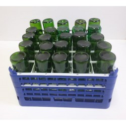 Bottle washer tray