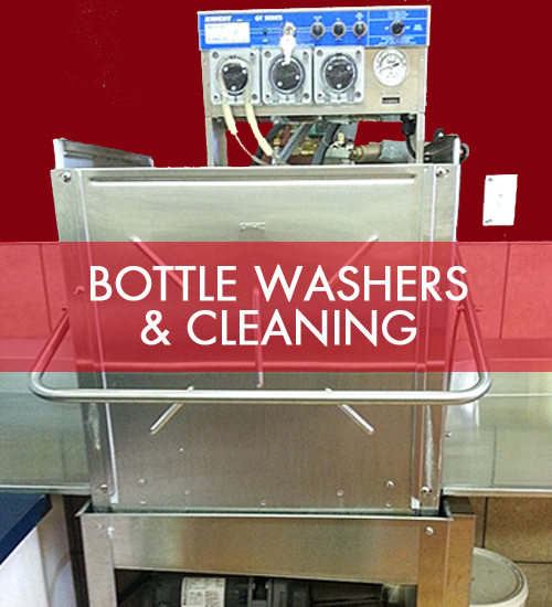 Bottle Washers & Cleaning