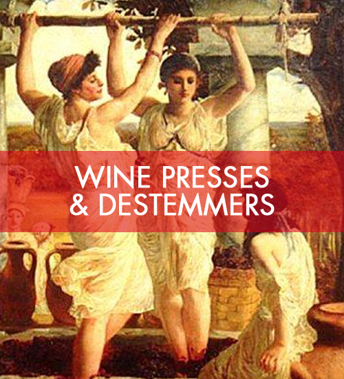Wine Presses & Destemmers