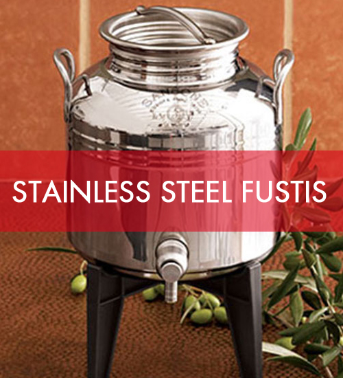Stainless Steel Fustis