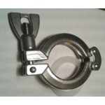 "1.5"" Tri-clamp  Clamp & Gasket"